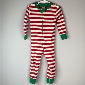 Hanna Andersson stripe Christmas pajamas pjs 3